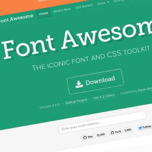 Font Awesome – fuentes iconográficas