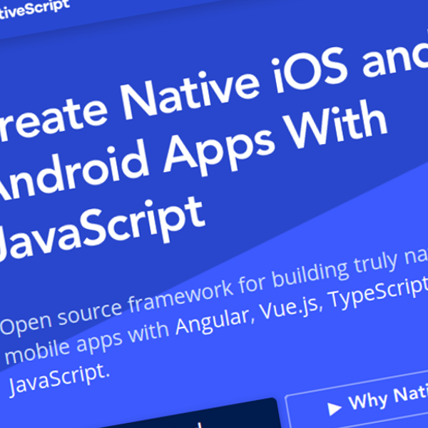Nativescript: Crea aplicaciones nativas para iOS y Android con JavaScript
