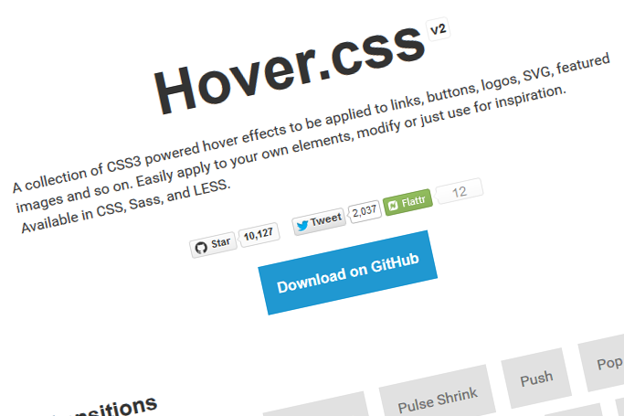 Hover.css v2