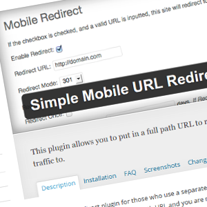 Simple Mobile URL Redirect