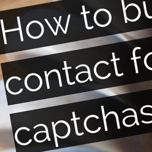 Contact form without captchas