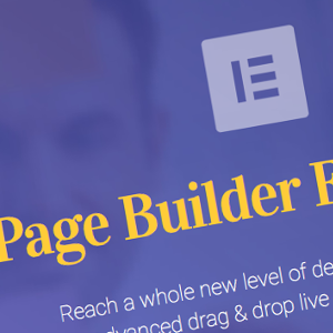 Elementor Live Page Builder For WordPress