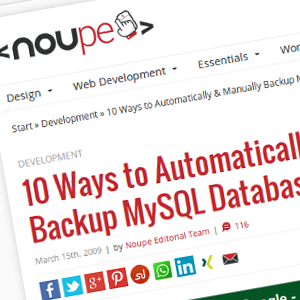 10 Ways to Automatically & Manually Backup MySQL Database