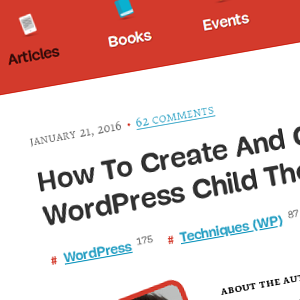 Cómo crear y personalizar un tema hijo (child) de WordPress