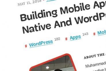 Creación de aplicaciones móviles usando React Native y WordPress