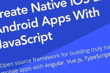 Nativescript: Crea aplicaciones nativas para iOS y Android con JavaScript