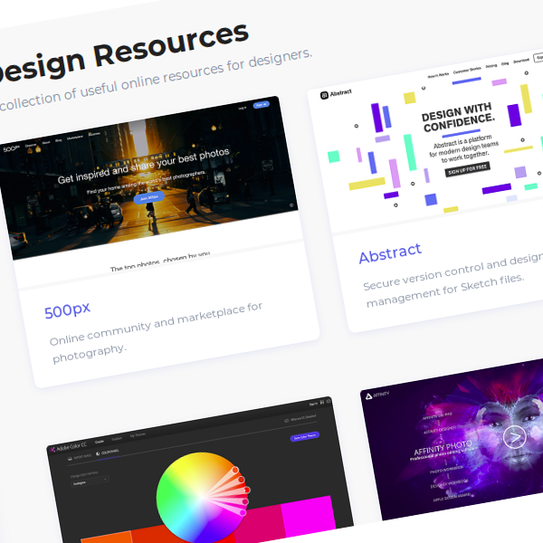 Neede.co Recursos para diseñadores