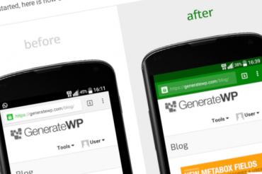 Address Bar Coloring in WordPress