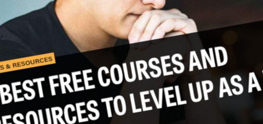 Los 5 mejores cursos y recursos gratuitos para subir de nivel como diseñador web