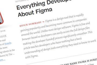 Todo lo que los desarrolladores necesitan saber sobre Figma