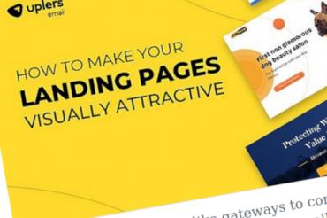 Cómo hacer que sus páginas de destino sean visualmente atractivas – [Infografía]