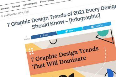 7 tendencias de diseño gráfico de 2021 que todo diseñador debe conocer
