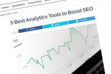Las 5 mejores herramientas de análisis para impulsar el SEO