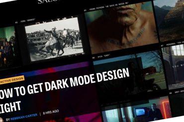 Cómo hacer bien el diseño del modo oscuro