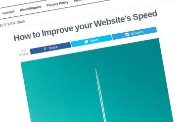Cómo mejorar la velocidad de su sitio web