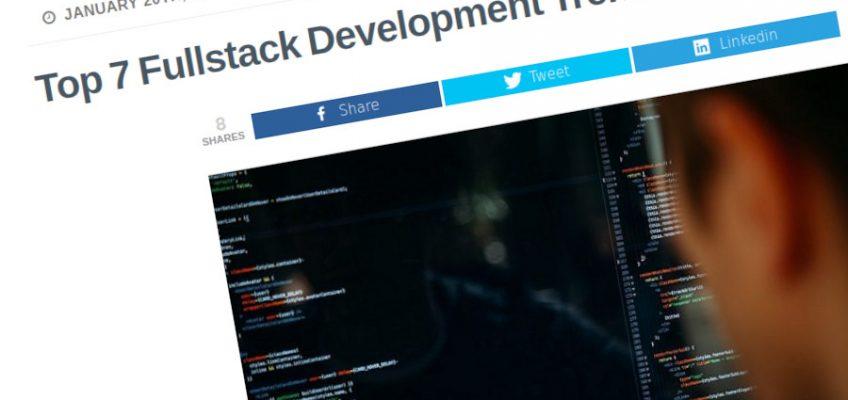 Las 7 principales tendencias de desarrollo Fullstack a seguir en 2021