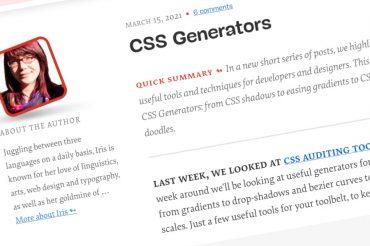 Generadores de CSS