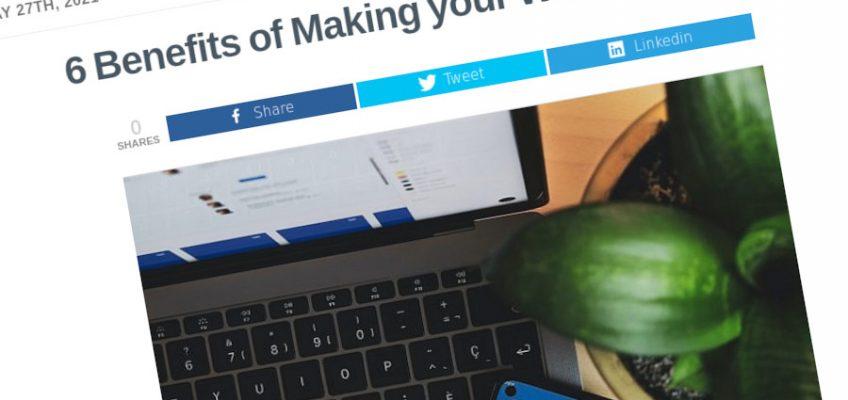 6 beneficios de convertir su sitio web en una PWA