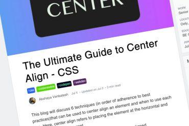 La guía definitiva para la alineación central – CSS