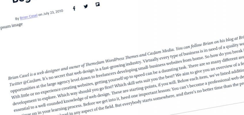 Más de 40 recursos de diseño y desarrollo web para principiantes